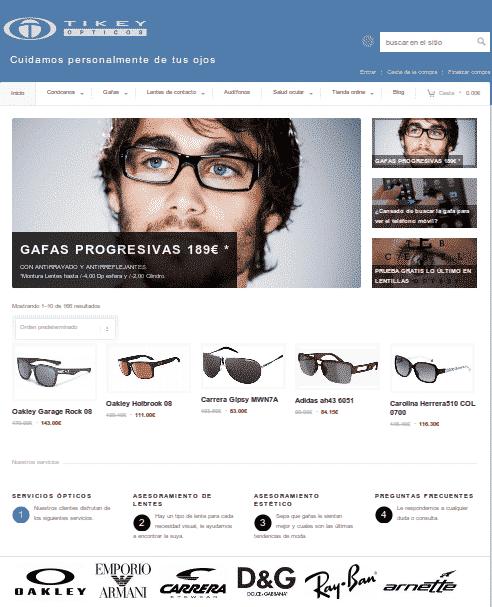 tikey ópticos, Ender Factoría de Software