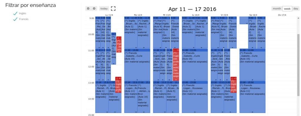 Cronograma Atenea
