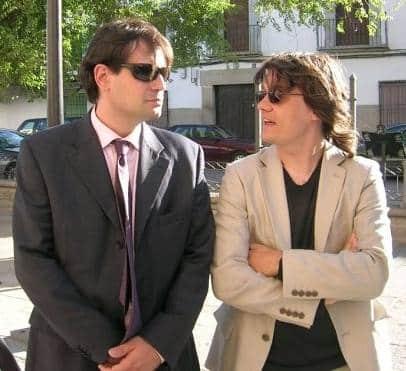 Jonathan Estrella y Domingo García, fundadores de Ender Aplicaciones